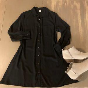 Old Navy Dresses - Like New Old Navy Swing Shirt Dress Medium